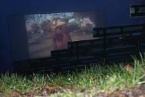 Letní kino v Mostkovicích