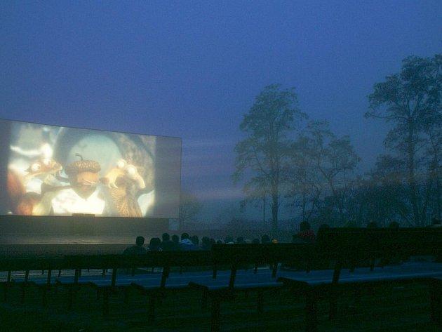 Letní kino. Ilustrační foto