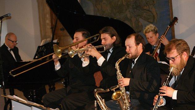 Originální pražský synkopický orchestr na zámku v Plumlově