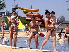 Tropický den v prostějovském aquaparku