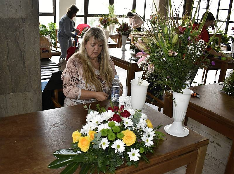 Zemské kolo floristiky se uskutečnilo v prostějovském Kulturním a Společenském centru. 23.9. 2021