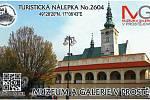 Prostějovské muzeum má svou turistickou známku i nálepku