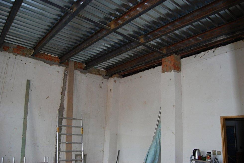 Probíhající rekonstrukční práce na budově B prostějovské radnice