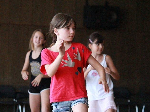 Příměstský tábor spojený s výukou tanců v Prostějově