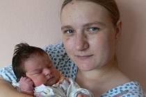 Sára Kočí s maminkou Kateřinou, Polomí, narozena 21. července, 51 cm, 3400 g