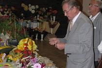 Z Okresní výstavy ovoce, zeleniny a květin v Čelčicích