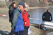 Soutěž otužilců O Ledovó čapo na plumlovské přehradě