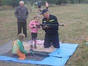 Děti si v suchdole užily spoustu zábavy.