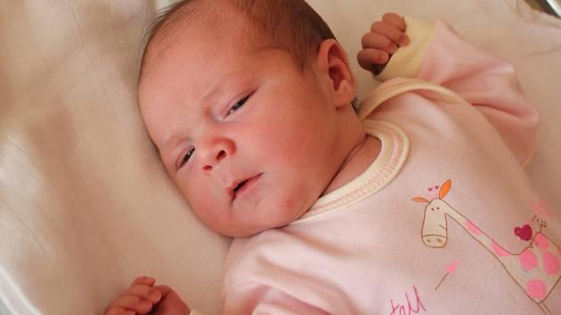 Tereza Benešová, Kralice na Hané, narozena 30. června, 52 cm, 3250 g
