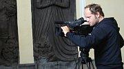 Ve Vrchoslavicích se natáčel dokument Modrá krev