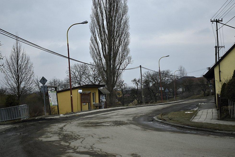 Ochoz - malá vesnička uprostřed přírody