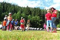 Letní tábory lákají k radovánkám i poznání