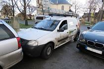 Dopravní nehoda čtyř automobilů v Olšanech u Prostějova