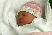 Libuše Svobodová, Prostějov narozena 25. září, 51 cm, 3750 g