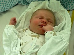 Aneta Kratochvílová, Prostějov, narozena 9. května, 50 cm, 3950 g