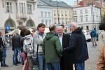 Prostějované vyjádřili nespokojenost s jednáním českého premiéra Andreje Babiše. 28.5. 2019
