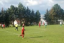 Fotbalisté Hané prohráli v Doloplazech.