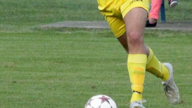 Fotbalisté Určic. Ilustrační foto