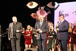 120. výročí gymnázia Jiřího Wolkera - oslavy v prostějovském divadle