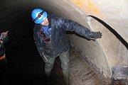 Během Dne vody nechala společnost Moravská vodárenská zpřístupnit část podzemí s Mlýnským náhonem.