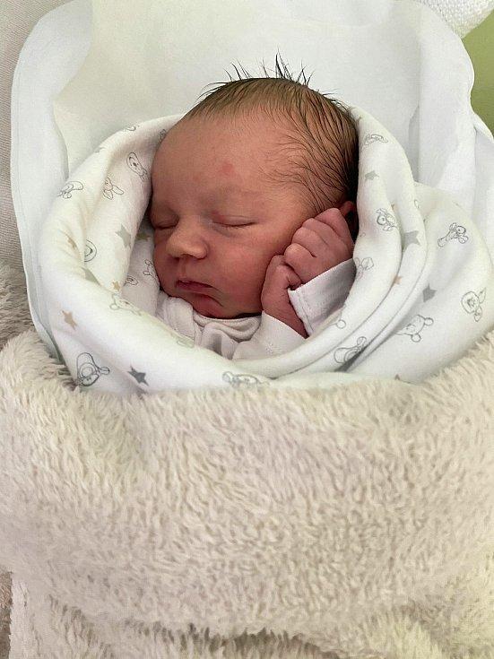 První miminkem, které přišlo na svět na Nový rok v přerovské porodnici, je chlapeček Ondra.