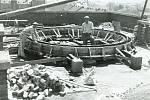 1. První prostějovská hvězdárna byla umístěna na střeše tehdejší 5. chlapecké národní školy na Husově náměstí. Vletech 1948-1949 zde byla postavena astronomická pozorovatelna pro veřejnost.