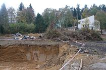 Rekonstrukce policejního školícího a rekreačního střediska u plumlovské přehrady - začátek listopadu 2019