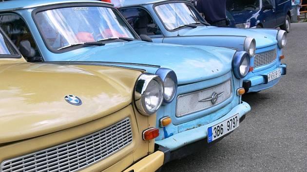 Moravský Trabant sraz v Plumlově se konal i v minulém roce