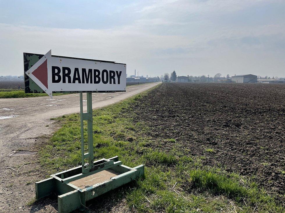 Zemědělské družstvo Vrbátky, brambory, 21. dubna 2021
