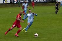 Prostějov (v modro-bílém) remizoval s Brnem 0:0.