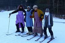 Kladecký maškarní rej na lyžích
