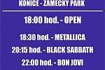 V sobotu 25. července rozpálí Zámecký park v Konici Revival fest.
