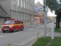 Radar v Olomoucké ulici