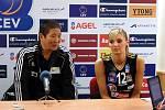 Volejbalistky Prostějova proti Cannes