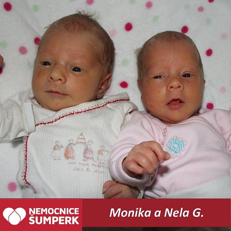 Monika a Nela G.Dolní Studénky