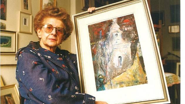 Alžběta Zelená v roce 2000.