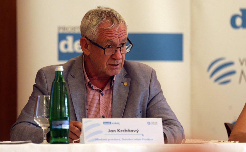 Náměstek primátora Jan Krchňavý