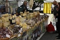 Italské trhy na náměstí TGM v Prostějově - 20. 5. 2021