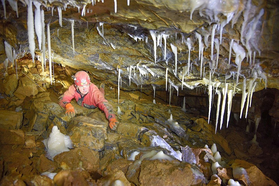 Prostějovští jeskyňáři slaví padesát let spolku.Snímky z výstavy.