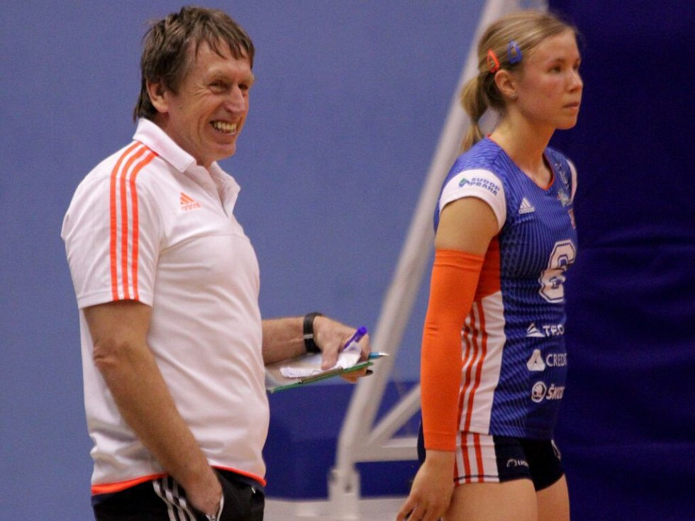 Trenér Olomouce Jiří Teplý