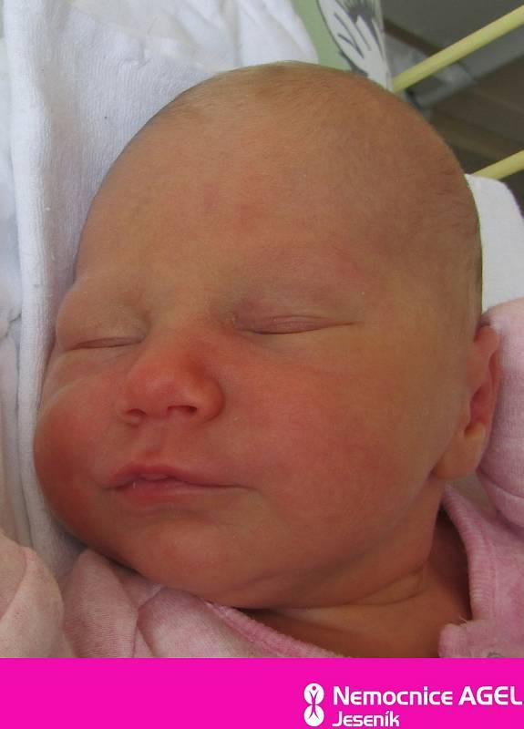 Klára Geppertová, Ostružná, narozena 7. července 2021