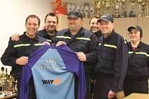 Dobrovolní hasiči z Dětkovic na Prostějovsku