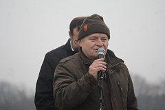 Břetislav Usnul při otevírání rozhledny Kopaninka
