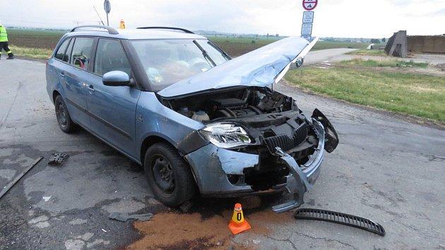Nehoda v Určicích