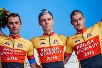 Prostějovští cyklisté obsadili na Přilbě Moravy první a druhé místo.