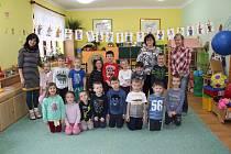 Děti v krumlovské školce Za Soudem.
