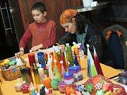 Kaplické dny s řemesly a jarmarkem se konaly v sobotu v předsálí kulturáku.