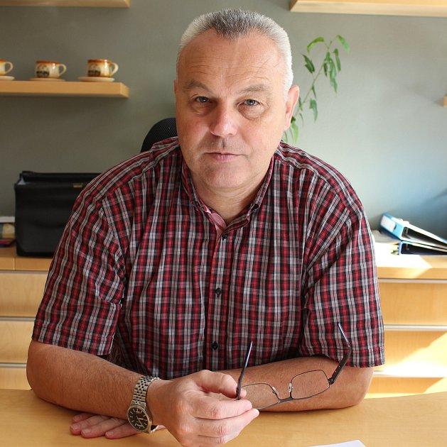 Starosta Kaplice Pavel Talíř.