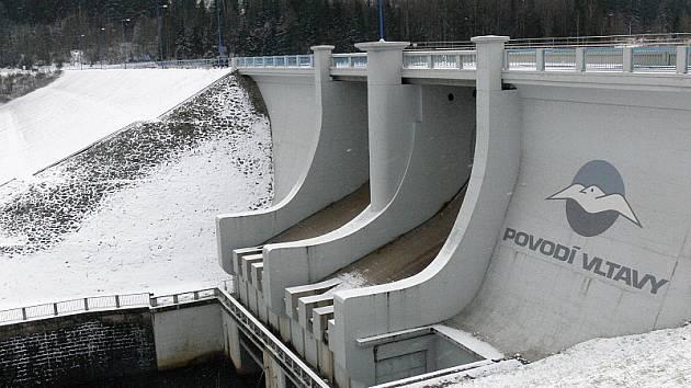 Lipenská přehrada. Ilustrační foto.
