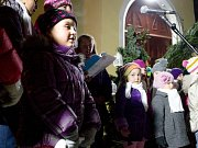 Koledy s Deníkem zpívali i ve Vyšším Brodě.